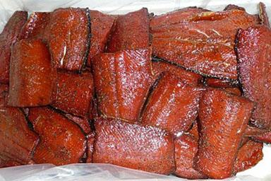 Smoked Wild Coho Salmon