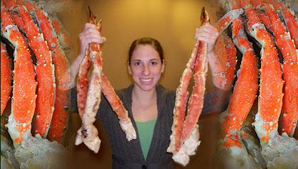 Would You Eat This Giant Crab?   POPSUGAR Food  Giant Alaskan King Crab Legs