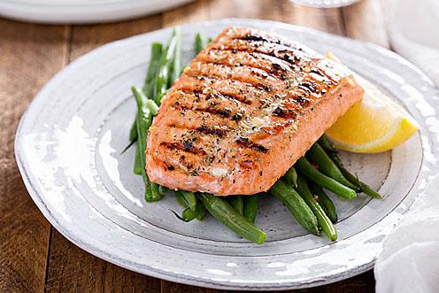 Silver Salmon Fillets