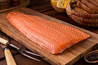 Silver Salmon Wholeside Fillets