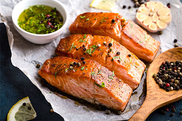 Troll-Caught Red King Salmon Fillets