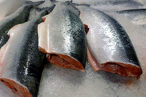 Whole Wild Sockeye Salmon