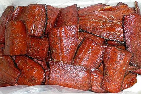 Smoked Red Sockeye Salmon Fillets