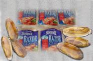 Alaskan Razor Clam Steaks