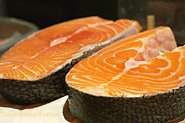 Wild King Salmon Steaks