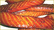 Honey Smoked King Salmon Strips