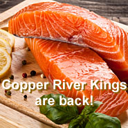Copper River King fillet