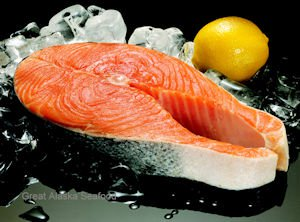 Sockeye Salmon Steaks