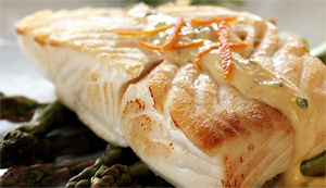 Halibut Fillets - Skin On