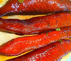 Tim's Teriyaki Smoked Salmon
