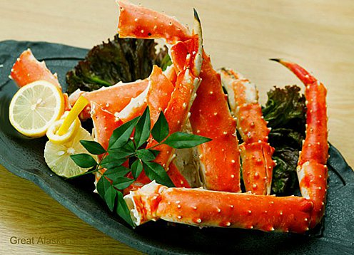 Our King Crab Legs voted best on the planet!