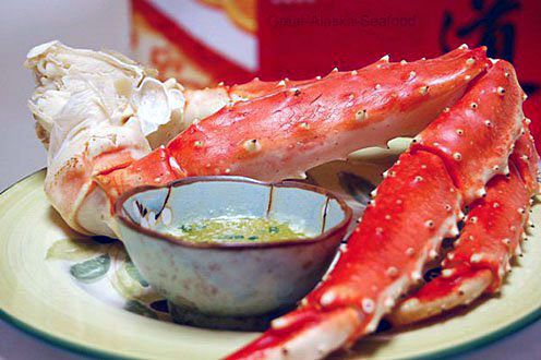 Wild Alaska Colossal King Crab