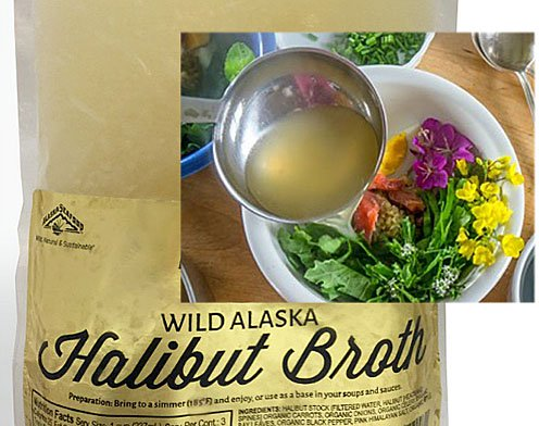 Halibut Broth