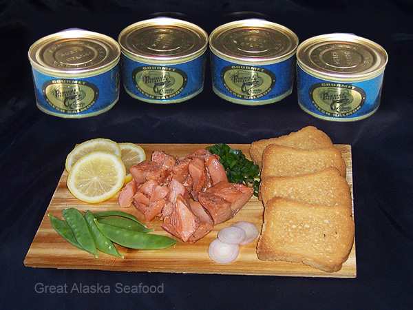 Canned Alaska Salmon