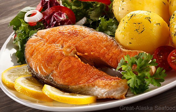Coho (Silver) Salmon Steaks