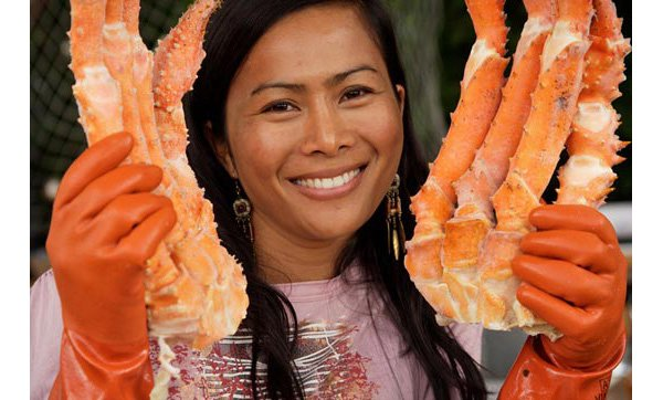 Golden King Crab Legs