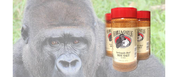 Gorilla Garlic Hot Salt