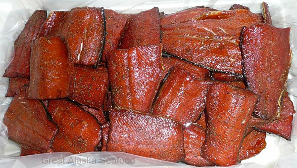 Smoked Red Sockeye Salmon Fillets