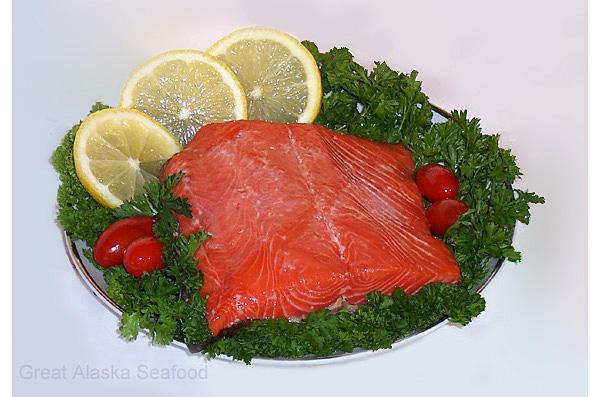 Smoked Alaska Coho (Silver) Salmon Fillets
