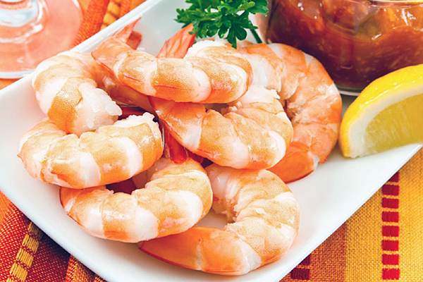 Wild White 			Shrimp
