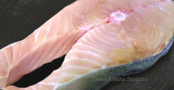 White King Salmon Steaks