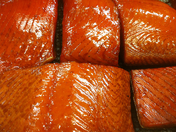 Smoked Kalgin Island King Salmon Fillets