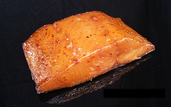 Smoked Alaska White King Salmon Fillets