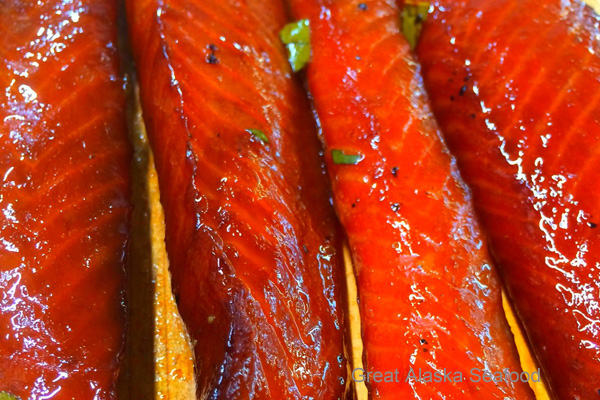Teriyaki Salmon Strips