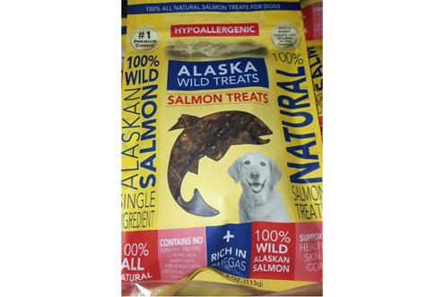 Wild Salmon Dog and Cat Treats