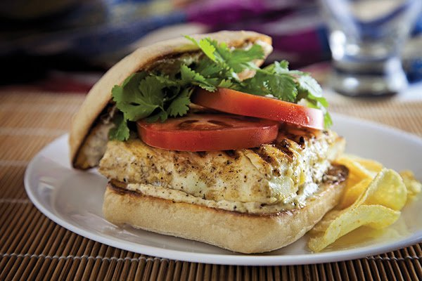 Wild Alaska Halibut Burger
