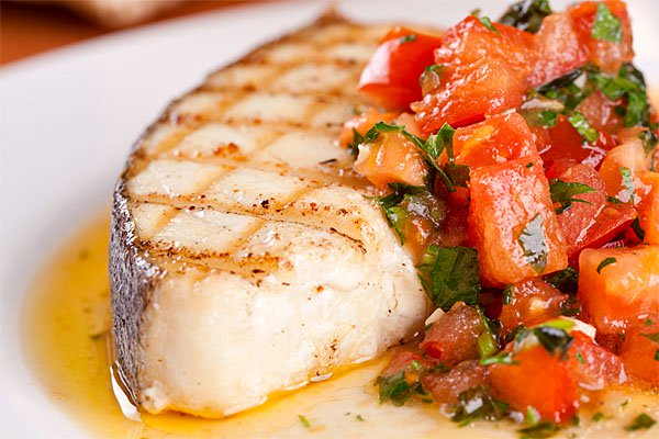 Loin Halibut Steaks