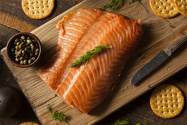 Smoked Alaska Coho (Silver) Salmon Fillets