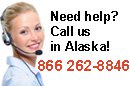 Call us in Alaska