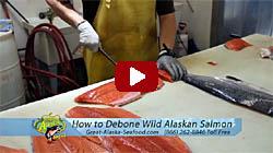 how to debone salmon